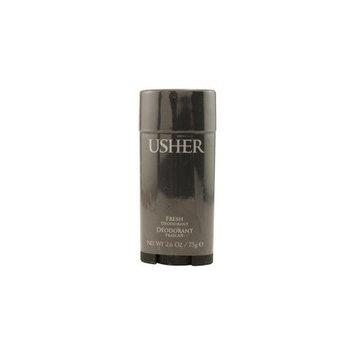 USHER by Usher DEODORANT STICK FRESH 2.6 OZ (Package Of 3)