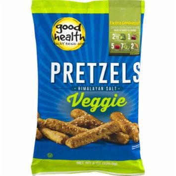 Good Health Veggie Pretzels with Himalayan Salt 8 oz. Bag (3 Bags)