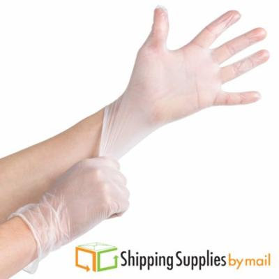 SSBM X-Large Vinyl Pre-Powdered Disposable Exam Grade Gloves, 72000ct