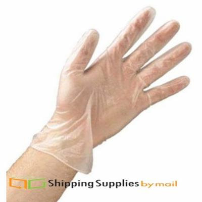 SSBM Polyethylene Disposable Gloves - X-Large Size - Latex-free, Powder-free, Non-sterile - 60000 ct - Clear