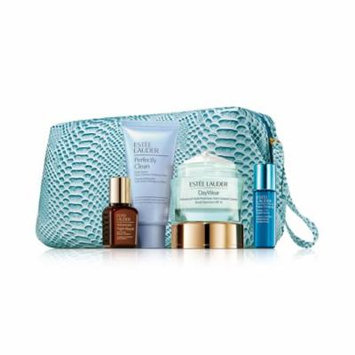 Estee Lauder 'Age prevention' your Complete System Skincare Kit With Travel Bag