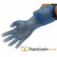 Blue Vinyl Disposable Gloves, Small 800 count by SSBM