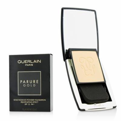 Guerlain Parure Gold Radiance Powder Foundation SPF15 31 Ambre Pale
