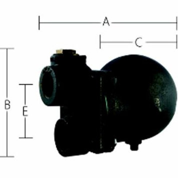 Sterling Float & Thermostatic Steam Trap Sterlco FT-75-15