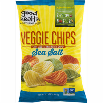 Good Health Veggie Chips with Sea Salt 6.75 oz. Bag (3 Bags)