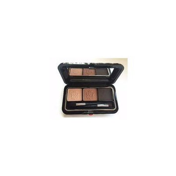 Borghese Satin Shadow Milano Duo- Cake Brow Liner & Shadow Duo in Belleza Brown