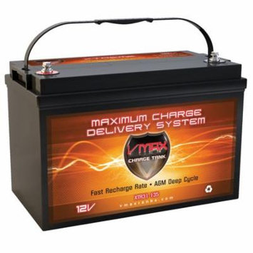 VMAX XTR31-135 Battery Replaces SEARS 27994 Battery, VMAX 12V 135Ah Group 31 Deep Cycle AGM