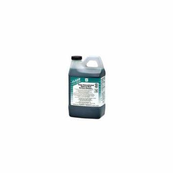 Spartan Clean on the Go Green Solutions 102 Glass Cleaner, 2 Liter Bottle, 4 Bottles Per Case