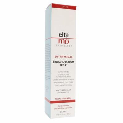 Elta MD SPF 41 UV Physical Sunscreen 3.0 Ounce Tube - New in Box