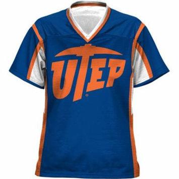 Women's The University of Texas at El Paso Scramble Football Fan Jersey