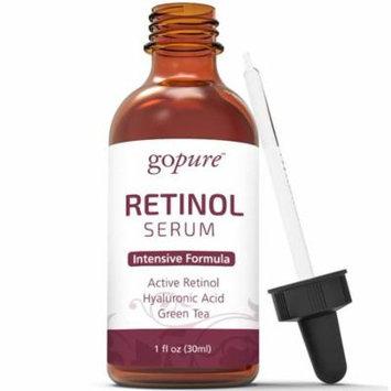 goPure Retinol Facial Serum - Active Retinol with Hyaluronic Acid, Jojoba Oil and Green Tea