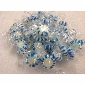 Blue Wintergreen Starlight Mints 1 pound Wintergreen Star Light Mints