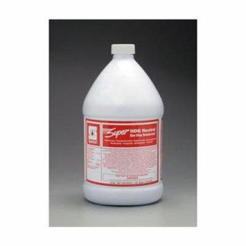Spartan Super HDQ Neutral Detergent/Deodorant, Gallons, 4 Per Case