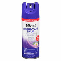 Nice! Disinfectant Spray Country Floral Rain 12.5 oz.(pack of 4)