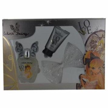 Winx Fairy Couture 17116741 Winx Fairy Stella Couture By Winx Fairy Couture Stella-set-edt Spray 3.4 Oz & Body Lotion 2.5 Oz & Hair Clip
