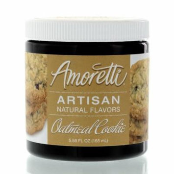 Amoretti Natural Artisan Flavor Oatmeal Cookie, 5.58 Fluid Ounce