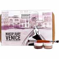 Everyday Minerals Makeup Diary VENICE 9 Piece Shimmer Eye Makeup Kit -- 1 Kit (pack of 3)