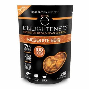Enlightened Roasted Broad Bean Crisps - Mesquite BBQ