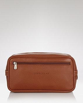 Longchamp Men's Zip Travel Kit