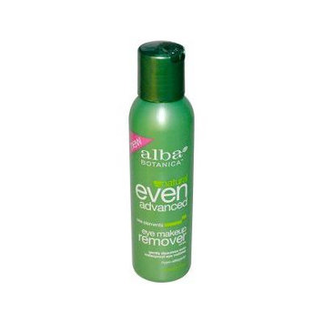 Alba Botanica, Natural Even Advanced, Eye Makeup Remover, Sea Elements, 4 fl oz (118 ml)