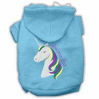 Unicorns Rock Embroidered Dog Hoodie Baby Blue Xxl (18)