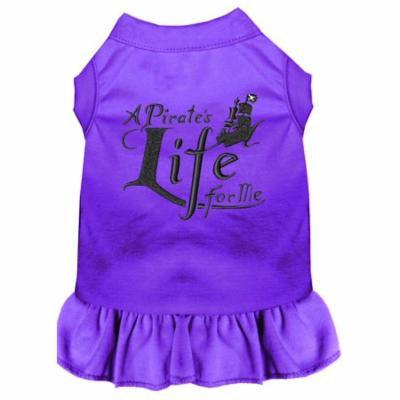 A Pirate's Life Embroidered Dog Dress Purple Xxxl (20)