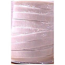 Stretchrite Non-Roll, Ribbed Elastic - 45 Yards in White
