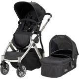Muv Reis 4-Wheel Stroller - Arctic Silver/Mystic Black