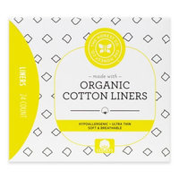 The Honest Company Organic Cotton Panty Liners, 24 Ct
