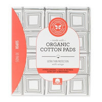 The Honest Company Organic Cotton Pads, Super, 10 Ct