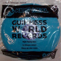 Wendy's Kids Meal Guinness World Records Flying Disc (mini size) 6 1/2