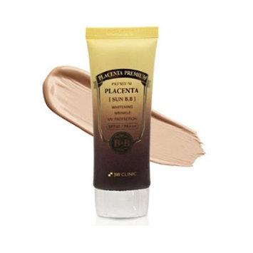 3W CLINIC Premium Placenta Sun BB Cream 2.36Oz SPF40 PA+++ UV Wrinkle Care