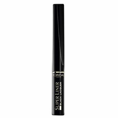 3 x L'Oreal Paris Super Liner Black Lacquer Waterproof Eyeliner 6ml New