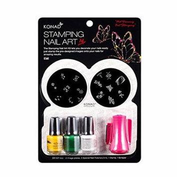 Konad Set Starter Kit for Stamping Nail Art (C-C SET)