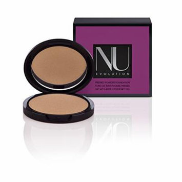 NU EVOLUTION Pressed Bronzer, Portofino, All Natural, Organic