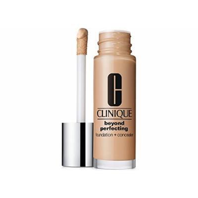 Clinique Beyond Perfecting Foundation + Concealer - Lightweight, Moisturizing Makeup (Neutral)