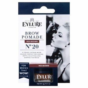 Eylure Eyebrow Pomade Mid Brown 1 ct, 0.04oz