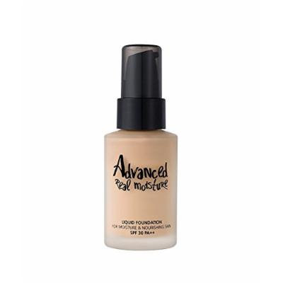 Touch In SOL Advanced Real Moisture Liquid Foundation - SPF30 PA++ - 30mL(#21 Nude Beige)
