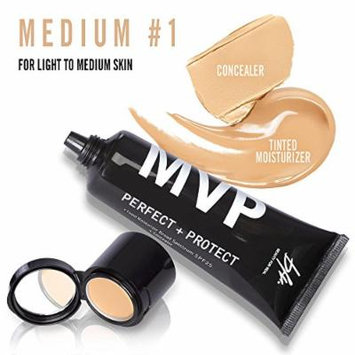 Beauty For Real MVP Perfect + Protect Tinted Moisturizer SPF25 (45 ml/1.5 fl oz)+ Concealer (1.5 g/0.05 oz) 2 in 1 (Medium #1)