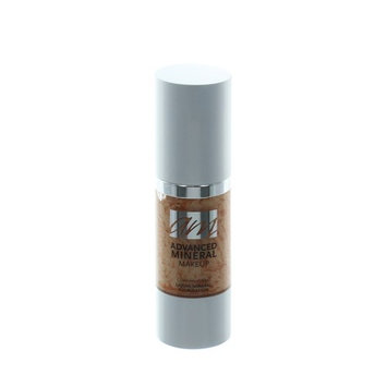 Advanced Mineral Makeup Liquid Foundation - Ginger Snap, 1 oz.
