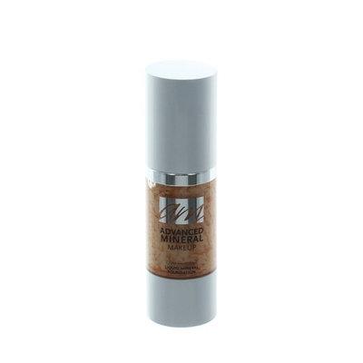 Advanced Mineral Makeup Liquid Foundation - Ginger Snap, 1 oz.