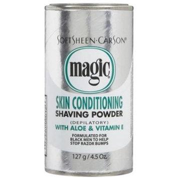 Magic Platinum Shaving Powder 4.5 oz. Skin Conditioning - 6 Pack [6]