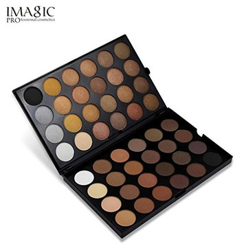 CYCTECH 48 Colors Matte Eyeshadow Palette Shimmer Glitter Eye Shadow Powder for Professional Makeup