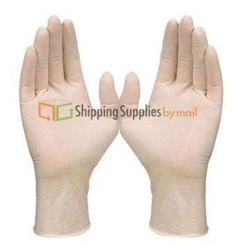 SSBM 700 Latex Exam Gloves, Powder Free 5 Mil Thick X-Large, Medical Exam (7 Box of 100)
