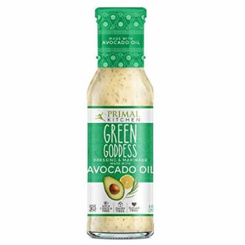 Primal Kitchen Green Goddess Dressing & Marinade made with Avocado Oil, 8 oz , Pack of 3
