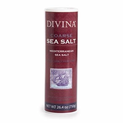 Divina Mediterranean Sea Salt - Coarse - 26.4 Ounce