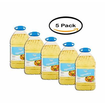 Great Value Vegetable Oil, 1 Gal, Pack of 3