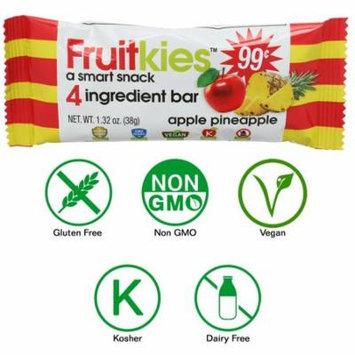 Fruitkies Apple Pineapple 4 Ingredient Fruit Snack Bar (Single Bar)