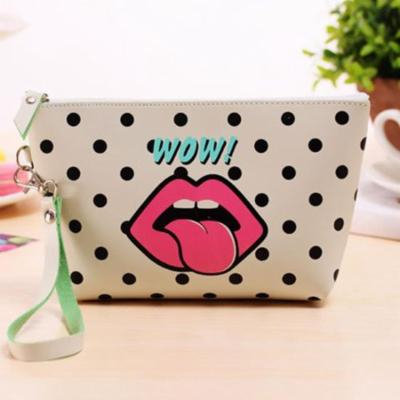 Women Print Makeup Bag Travel Organizer Storage Pouch Clutch Bag WCYE