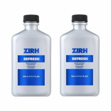 Zirh Refresh Invigorating Astringent, 6.7 oz (Pack of 2) + Schick Slim Twin ST for Dry Skin